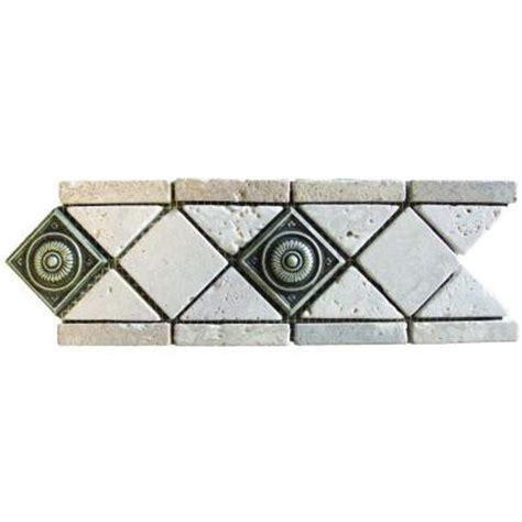 ms international chiaro brick 12 in x 12 in x 10 mm ms international noche chiaro pewter scudo 4 in x 12 in