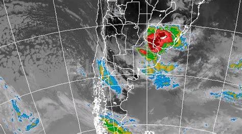 imagenes satelitales smn argentina renuevan el alerta meteorol 243 gico por lluvias y tormentas
