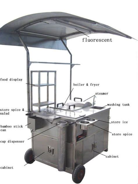 Catering Kitchen Design Ideas by Best 25 Food Cart Design Ideas On Pinterest Food Stall