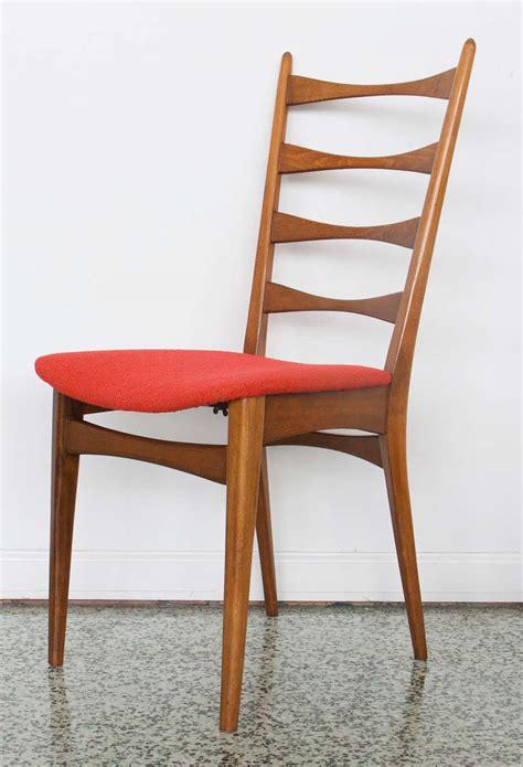 danish modern dining chairs at 1stdibs six danish modern midcentury ladder back dining chairs at