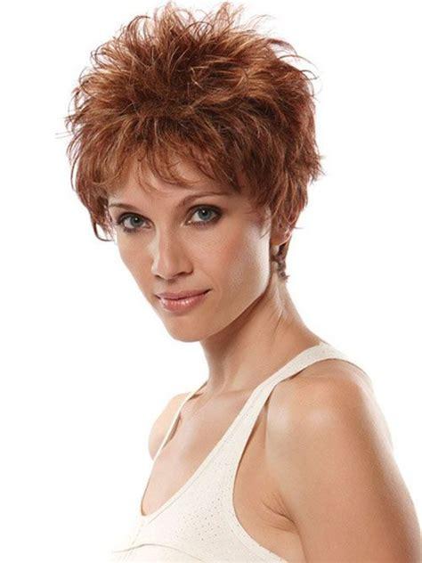 short spiky hairstyles  older women cool trendy