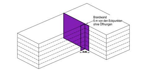 Abstand Fenster Brandwand by Brandw 228 Nde I Brandschutz Baustoffe Bauteile Baunetz