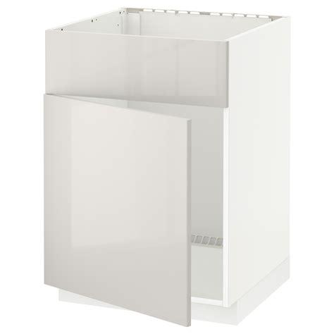 ikea kitchen base cabinet metod base cabinet f sink w door front white ringhult