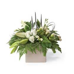 Silk Flowers Delivered - flower delivery a white christmas flower arrangement