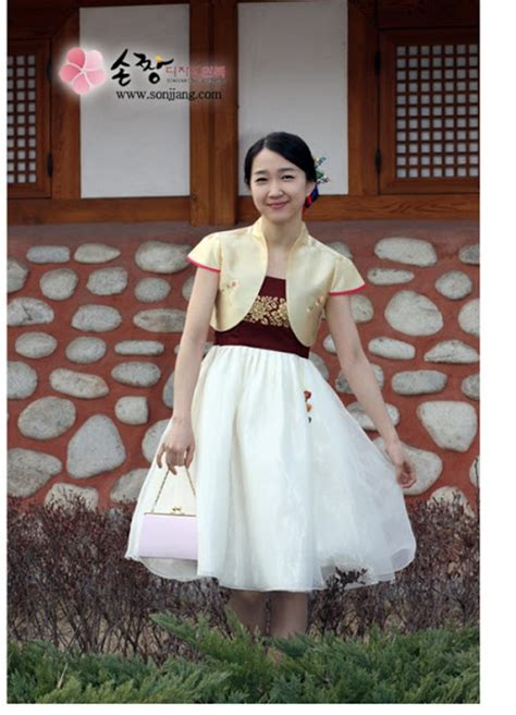 Hanbok Korea Original Baju Korea 1 dress korea baju korean hanbok modern busana korea