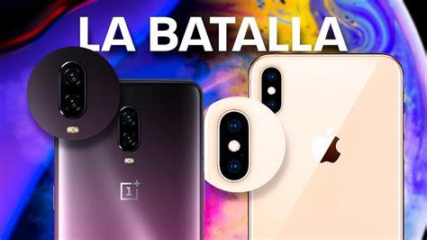 iphone xs vs oneplus 6t batalla fotogr 193 fica