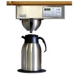 the counter coffee maker on