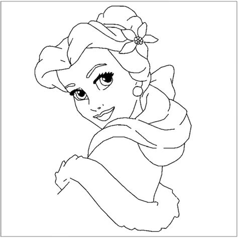 disney princess christmas coloring pages full desktop