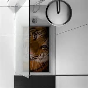 pag 3d anti slip bathroom kitchen tiger pattern floor