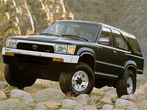 1992 Toyota Specs 1992 Toyota 4runner Specs Safety Rating Mpg Carsdirect