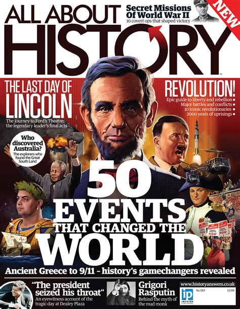 What About History all about history magazine on sale now