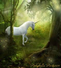 Unicorn forest by pinkabelle on deviantart