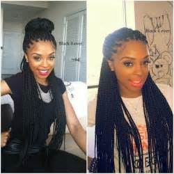 what type of hair to use for box braids box braid hair type braiding hairstyle pictures