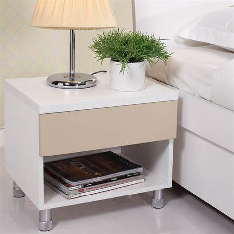 mirrored bedside table with one drawer furniture impressive furniture for bedroom decoration