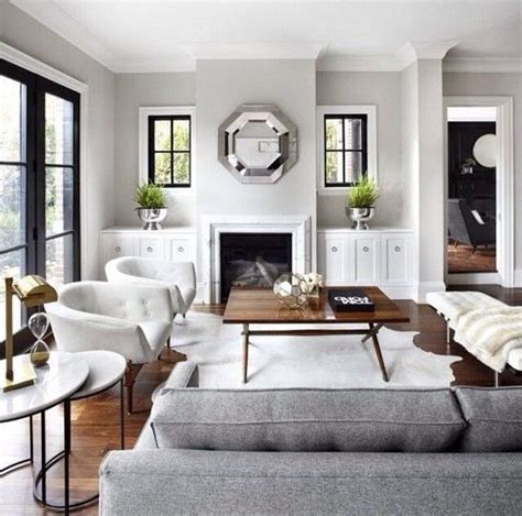 gray neutral living room haus pinterest dark wood grey walls black metal frame door amaze