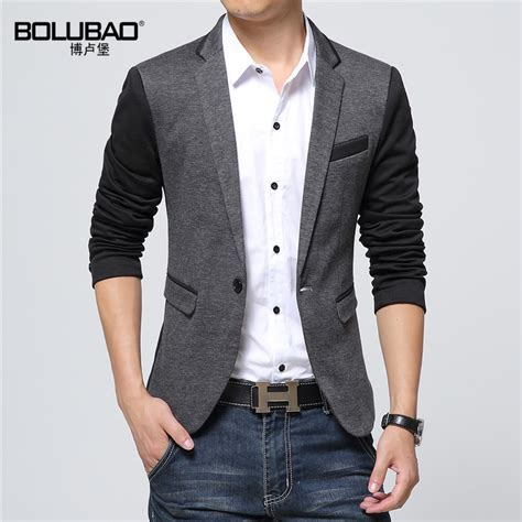 Blazer Casual 2016 New Fashion Casual Blazer Cotton Slim Korea Style