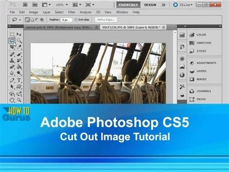 photoshop cs5 zeichnen tutorial adobe photoshop cs5 how to cut out an image tutorial how