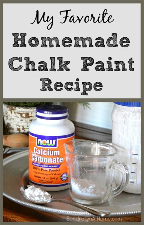chalk paint recipe lyn at home w newhairstylesformen2014