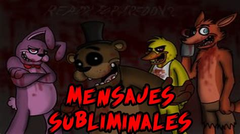 Mensajes Subliminales Five Nights At Freddy S 2 | mensajes subliminales ocultos en el trailler de five