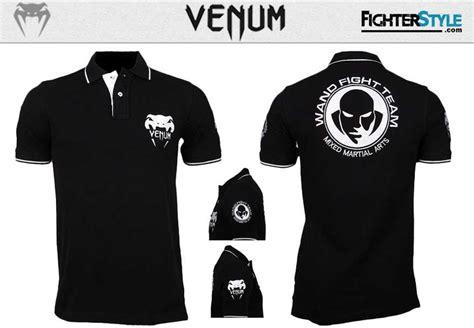 Venum Fight Team Shirt Black venum wand fight team polo black at http www fighterstyle venum wand fight team shirt
