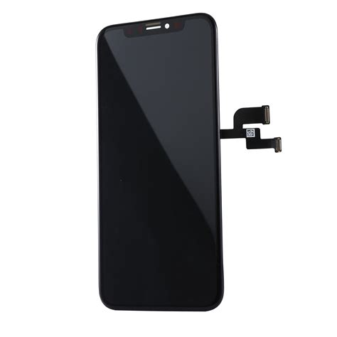 replacement lcd screen  digitizer  iphone  assembly  frame black