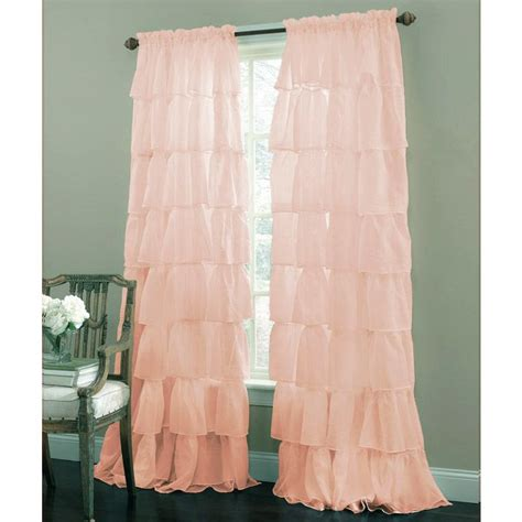 Ruffled Window Curtains Best 25 Pink Ruffle Curtains Ideas On Pinterest Ruffle Curtains Curtains Made To Order And