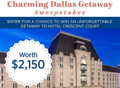country living sweepstakes countryliving crescent court dallas getaway sweepstakes sweepstakesbible