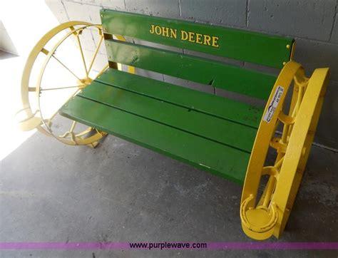 john deere bench shop built john deere bench no reserve auction on