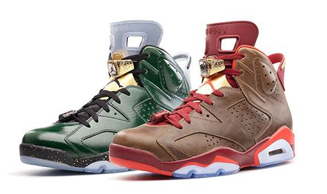 jordans shoes for 2014 new air 6 cigar chagne celebration collection