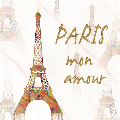 paris mon amour 3822835412 paris mon amour mixed media painting by georgeta blanaru