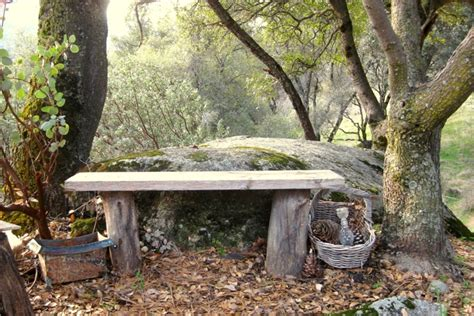 the rock benching how to build simple garden benches for free flea market