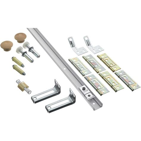 Shop Stanley National Hardware 14 Piece Bifold Closet Door Bifold Closet Door Track Hardware