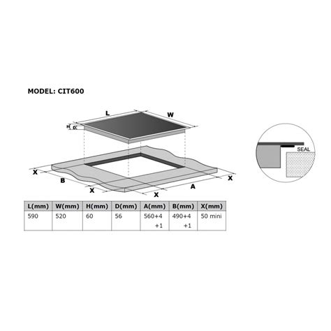 extractor fan induction hob cookology cit600 induction hob 60cm cdd600bk downdraft extractor fan pack