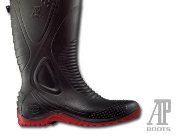 Sepatu Boot Tukang Bangunan ap boots moto2 sekarang berubah lebih kerenn oi