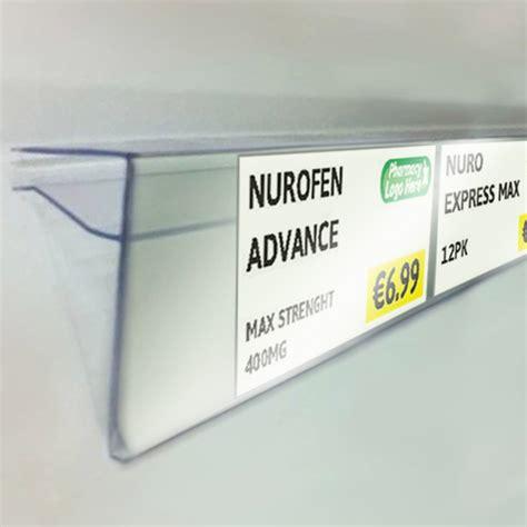 New Shelf Edge Price Tag Templates Pharmapos Shop Retail Shelf Labels Template
