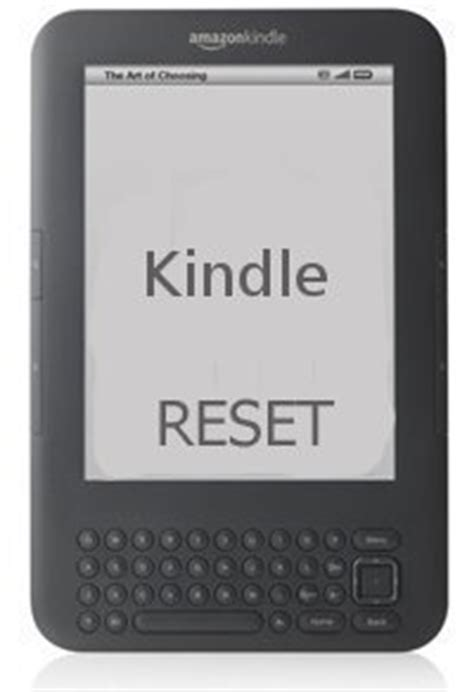 reset kindle online how to reset a kindle