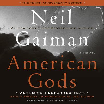 libro american gods libro fm american gods the tenth anniversary edition featured audiobook