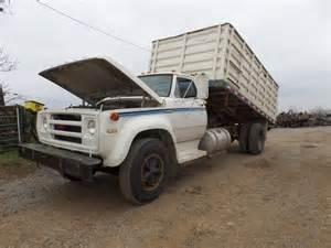 Dodge D600 Truck 1974 Dodge D600 Grain Truck 8282 S S Equipment