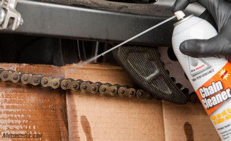Motorradkette Reinigen by How To Clean Your Chain