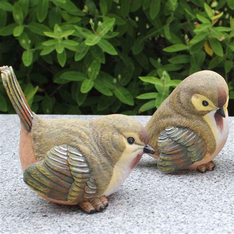uccelli da giardino uccello giardino statue acquista a poco prezzo uccello