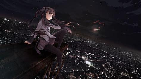 wallpaper anime girl dark puella magi madoka magica full hd wallpaper and background
