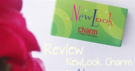 Softlens Newlook Playful Charm conietta cimund review newlook charm softlens in blue