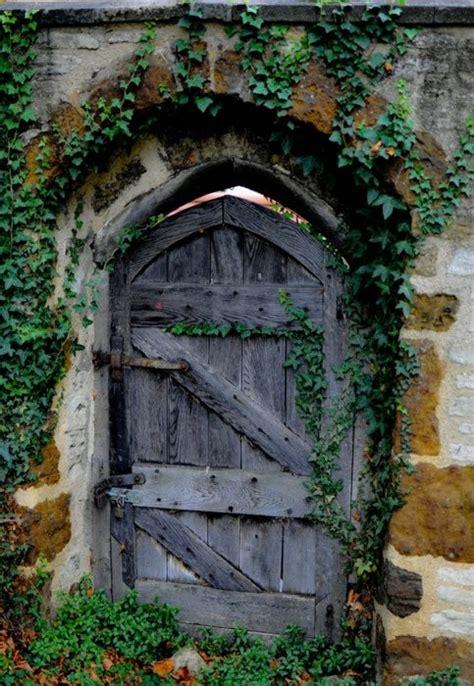garden doors style rustic wood gate doors rustic