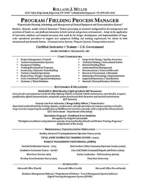 To Civilian Resume Sle by Resume Civilian Sle Builder Best Free Home