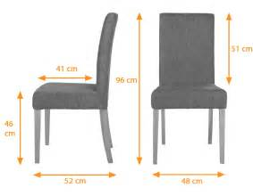 Dining Table Chair Measurements Vasa Dining Chair With Changeable Cover Nut Brown