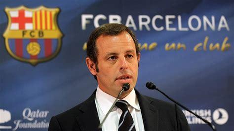 barcelona president investigation of neymar transfer fc barcelona president