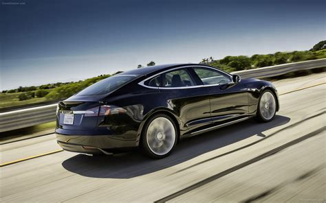 Tesla S 2013 Tesla Model S 2013 Widescreen Car Picture 01 Of 30