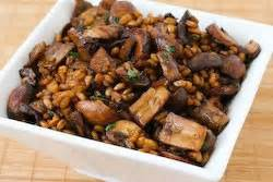 whole grains every day every way farro with mushrooms thyme and balsamic vinegar kalyn