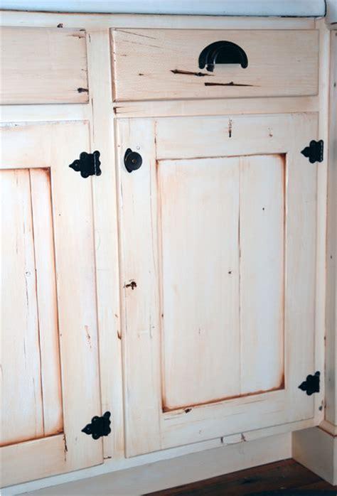 distressed cabinet door farmhouse kitchen denver