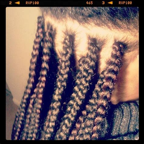 how to put your box braids in a bun how to do a single box braid weave extensions technique